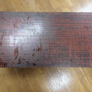 大きめ木目のローテーブル