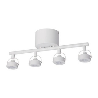 IKEA  IGGELBO 4灯スポットライト  ホワイト