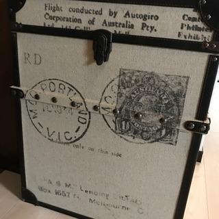 アンティーク風  収納ボックス  3000円