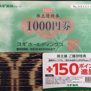 スギ薬局 株主優待(2018年6月30日期限)
