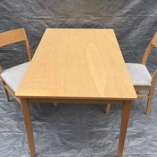 ダイニングテーブル3点セット (ビークSP LBR) ニトリ テー...