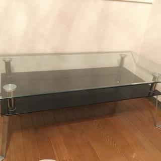 【値下げしました】ガラステーブル