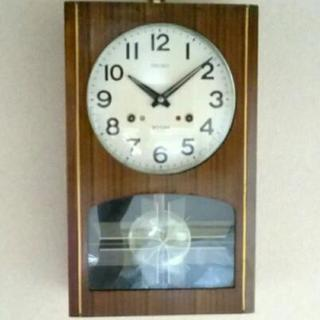 SEIKO ゼンマイ式柱時計