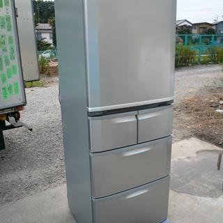 冷蔵庫 シルバー 404L SANYO SR-H401M(S) 2...