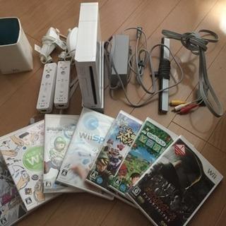 【ソフト7本付き】任天堂wiiセット