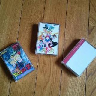 セーラームーン、ドラゴンボールZ 8mmビデオテープ
