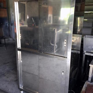 〓 A1 〓 ステンレス 大型食器棚 W1000×D600×H18...