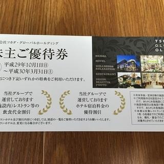 ツカダ・グローバル 株主優待 インターコンチネンタル 東京ベイ