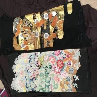 仮縫いの着物5枚(リメイク用に)