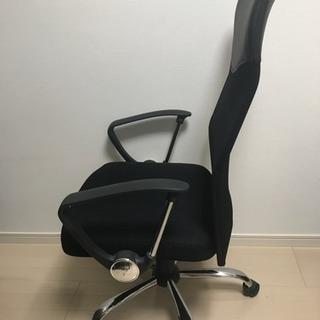 美品★椅子 デスク用 オフィス チェア 黒 油圧式 9/23まで