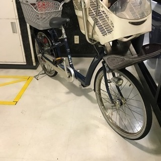 浦安から 軽整備済 ブリジストン製 アンジェリーノ 子供乗せ自転車