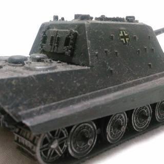 ドイツ重戦車ヤクトタイガー プラモデル