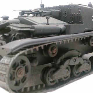 イタリア自走砲 M40 セモベンテ