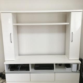 【上枠だけで良ければ】テレビボード ハイタイプ 棚