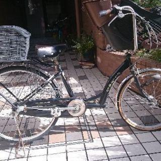 子供乗せ用自転車譲ります(9/24まで)仙台駅