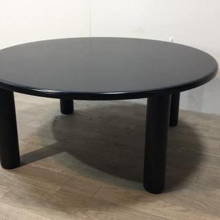 091212 円卓テーブル ブラック