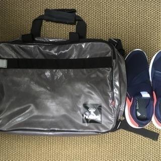 hummel 3WAYバック 運動靴も楽々入ります♪