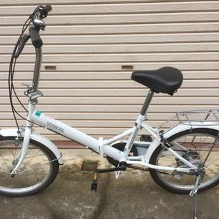 折りたたみ6段変速自転車