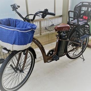 シマノ製6段変速機&26インチ電動自転車 2016年購入