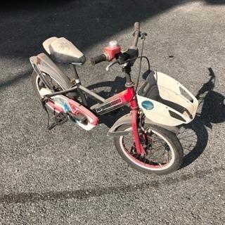 チョット古い、子供自転車、いりませんか?