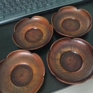小皿(木製)×4