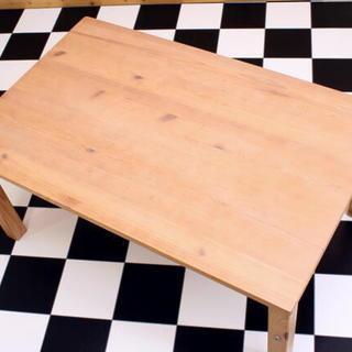 ●直接引取り歓迎 岐阜 木製折りたたみデスク 無印良品 800×5...