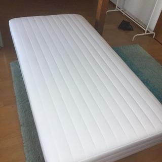 無印 足付きシングルベッド