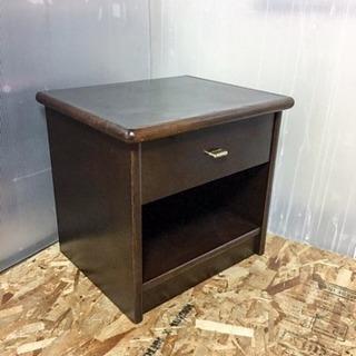 フランスベッド サイド収納テーブル LC091204