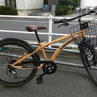 ★子供自転車ギア付き24インチ★