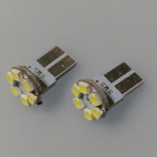 車幅灯T10(LEDチップが6個付いた)もの2個セット