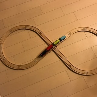 IKEA 木製 電車のおもちゃ