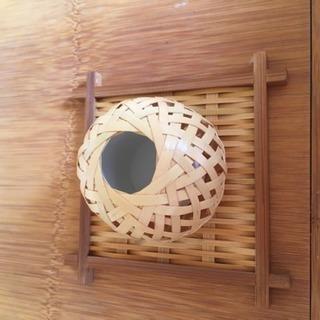 小さな花器(豊後竹)