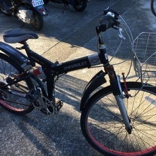 シボレー自転車  値下げしました。