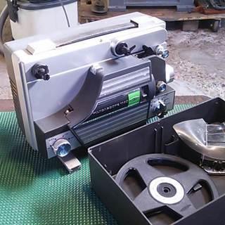 富士フイルム製 8ミリ映写機-1 ジャンク品