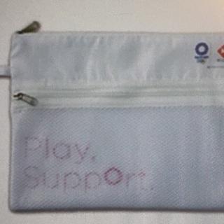 東京2020オリンピック・パラリンピック メッシュポケット付きポーチ
