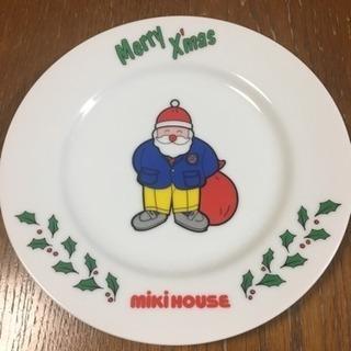 【未使用品】ミキハウス クリスマスプレート