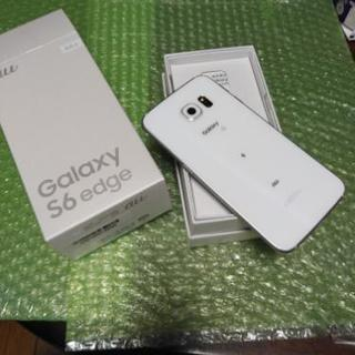 galaxy S6 edge 64GB au SCV31 美品 S...