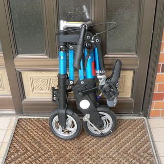 超小型折り畳み自転車