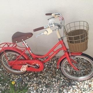 自転車16インチ  補助輪2個付き