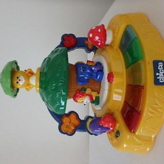 chicco キッコ製 美品 音のでるおもちゃ 知育玩具 鍵盤