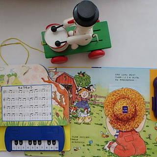 美品 音のでるおもちゃ 福袋 知育玩具 ピアノえほん プルトーイ