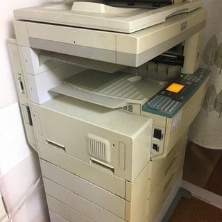 東京都江戸川区 SHARPの古い大型コピー兼FAX機