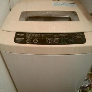 中古洗濯機&電子レンジ
