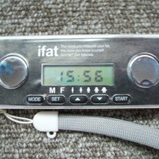 コンパクト体脂肪計