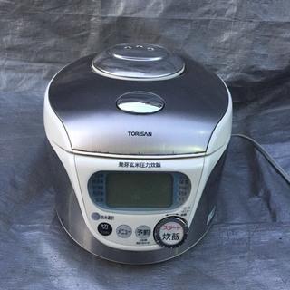 三洋 発芽玄米圧力沸騰炊飯器 ECJ-CH10 2004年製 US...