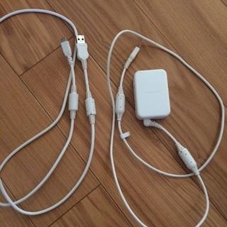 スマホ充電器 USB ドコモ純正