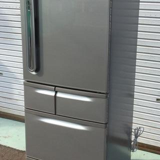 <超美品>東芝・ノンフロン冷蔵庫・自動製氷付き・405L