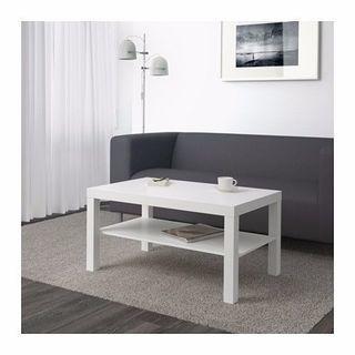 IKEA LACK コーヒーテーブル, ホワイト, 90x55 cm