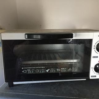 無料 オーブントースター