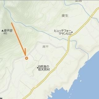 世界遺産 屋久島 高平岳の南側  バス停から徒歩15分 天然村さん...